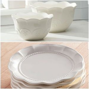 Princess house Bundle of marbella dinnerware